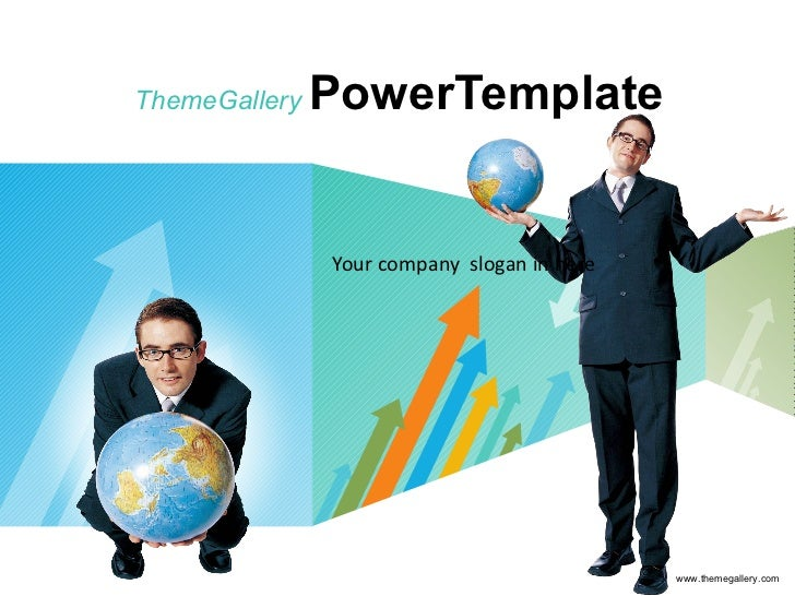 ThemeGallery   PowerTemplate Your company  slogan in here www.themegallery.com