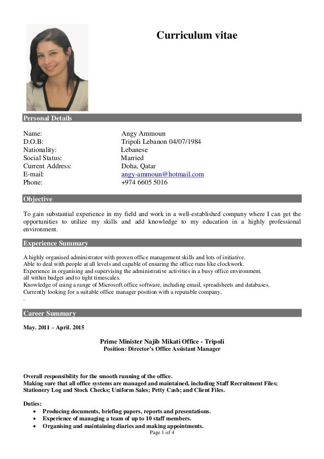angy-cv-1-638 Example Of Performance Resume on best sample, graphic design, good job, best teacher, registered nurse, new professional, great customer service,