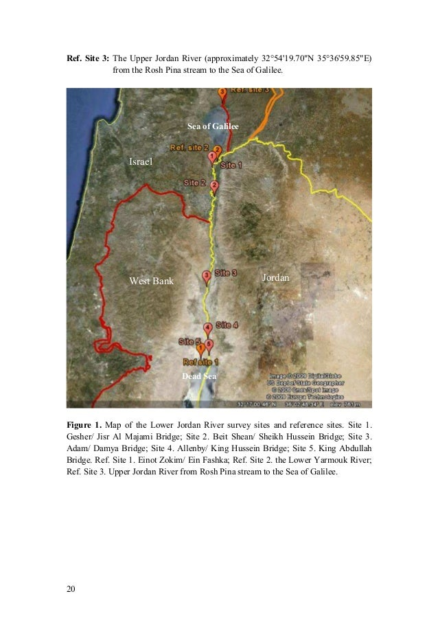 Strategy to rehabilitate the lower jordan river 20 gumiabroncs Gallery