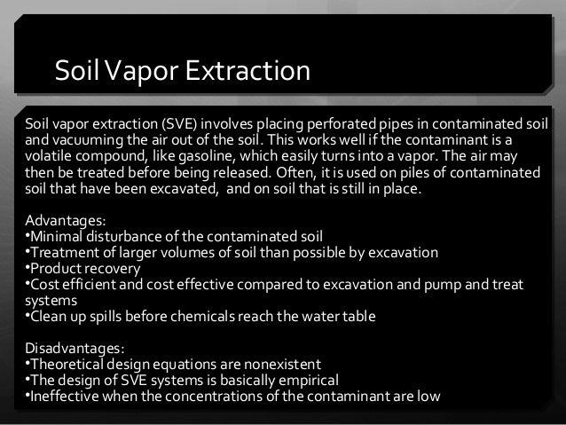 Biotech pp 3 for Soil vapor extraction