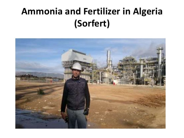 Ammonia and Fertilizer in Algeria (Sorfert)