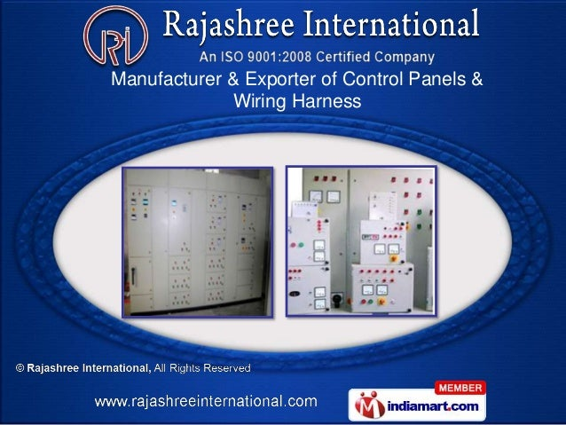Wiring Harness Manufacturer In Pune : Automobile wiring harness by rajashree international pune