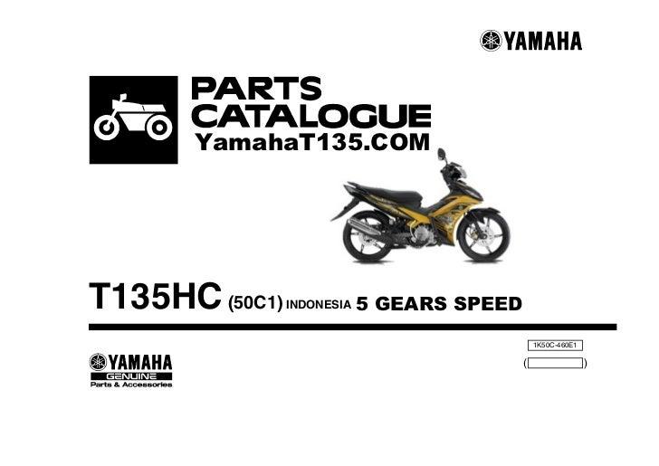 58546102 2011 yamaha t135 parts catalog rh slideshare net Yamaha Mio Yamaha Mio
