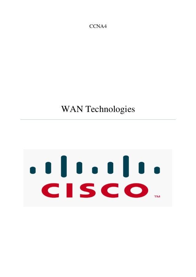 CCNA4 WAN Technologies