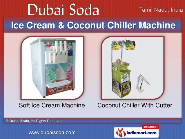 Soda Machines Amp Emulsion Concentrates By Dubai Soda Erode