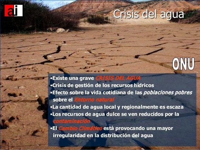 Resultado de imagen para  crisis de agua en las ciudades en el futuro
