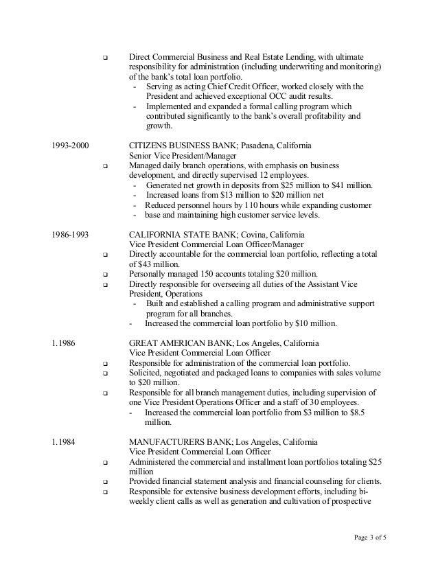 Cover Letter Real Estate Agent Job Description Job Description For  Loan Officer Job Description For Resume