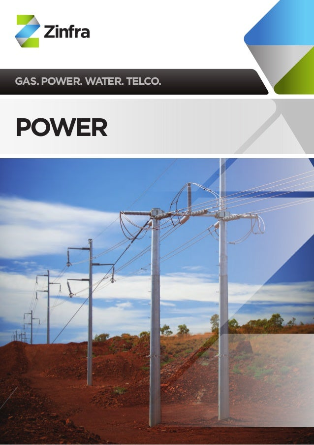 GAS. POWER. WATER. TELCO.  POWER