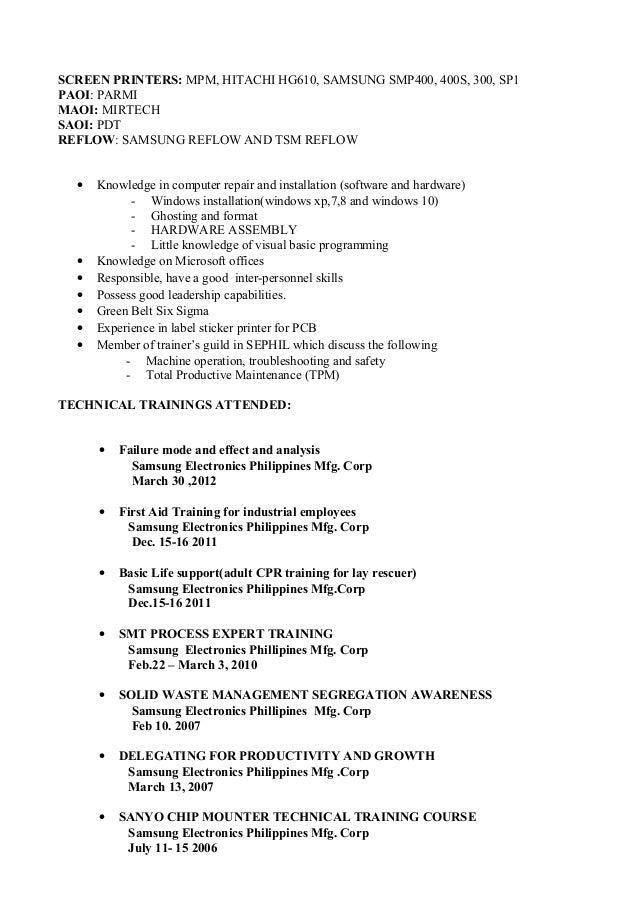 my resume format - My Resume Format