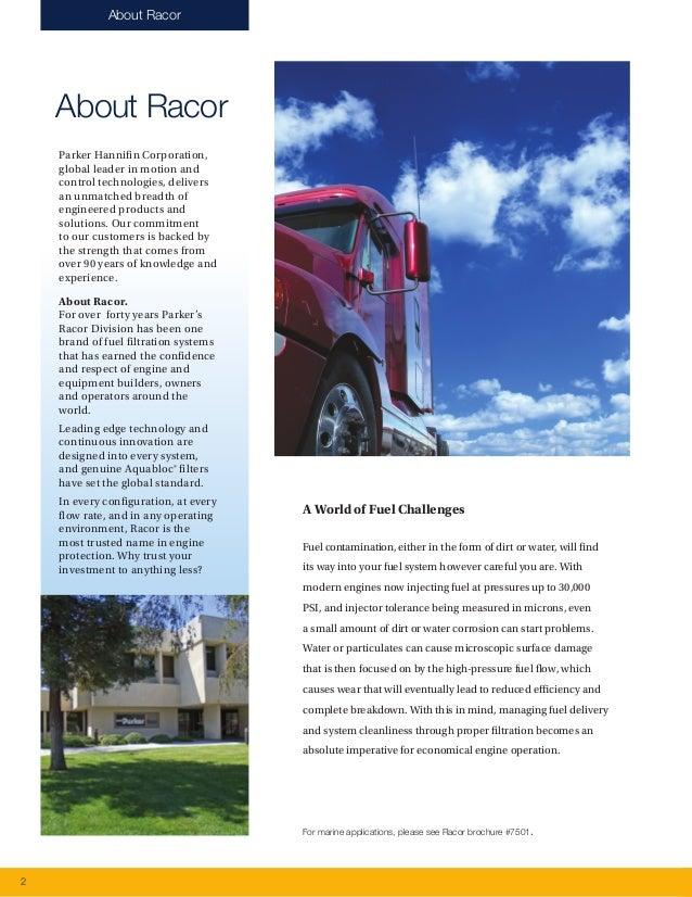 Racor Fuel Filtration - Fuel Filtration Products-7529 Slide 2