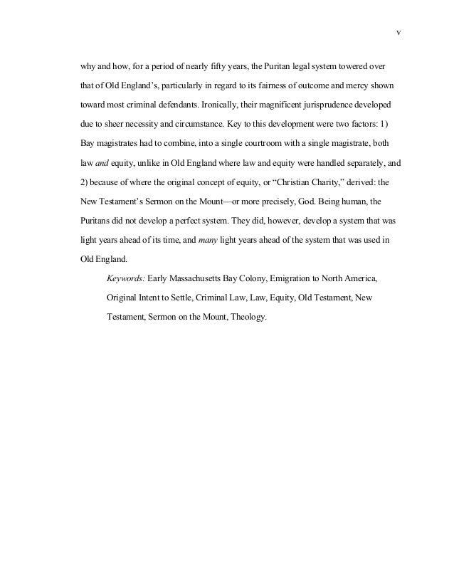 Separatist thesis