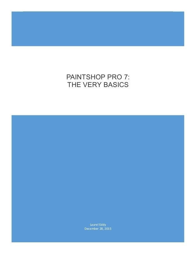 Paintshop Pro 7 Manual border=