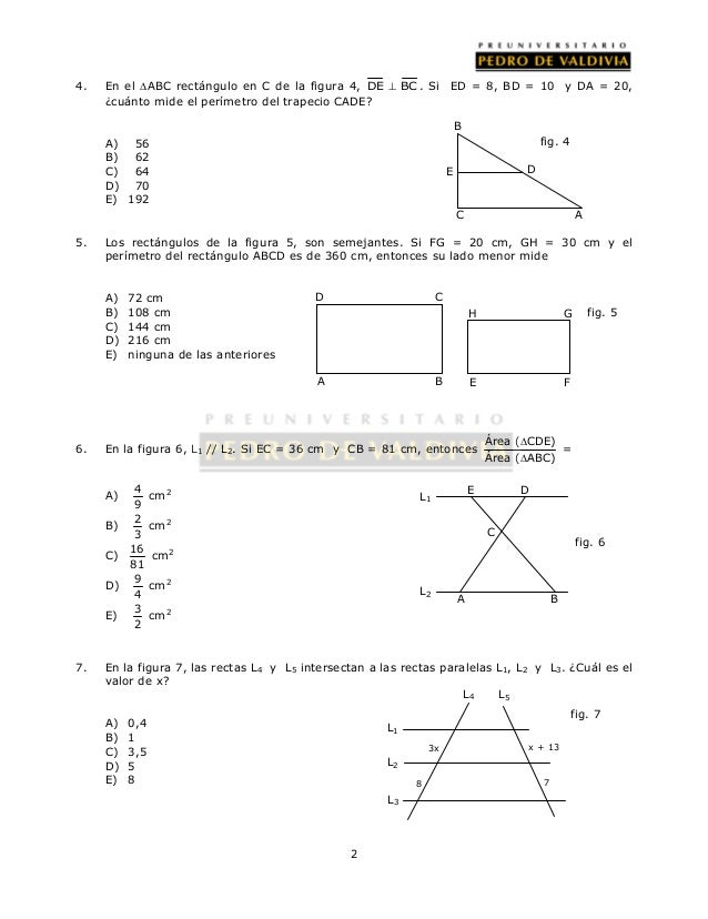 58 ejercicios geometría proporcional 1 Slide 2