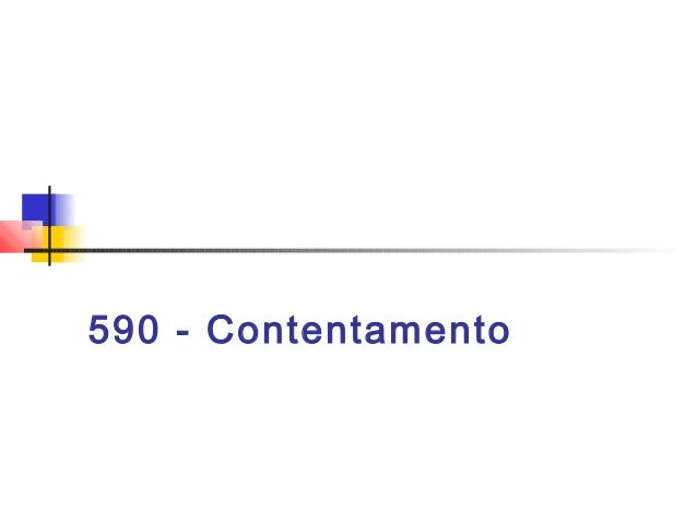 590 - Contentamento