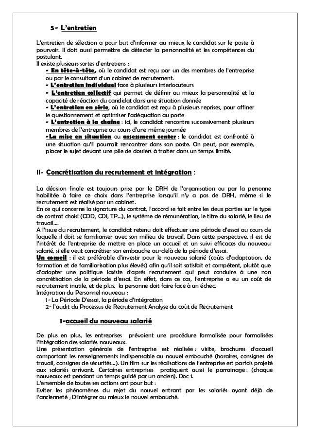 59009681 module grh - Entretien cabinet de recrutement questions ...