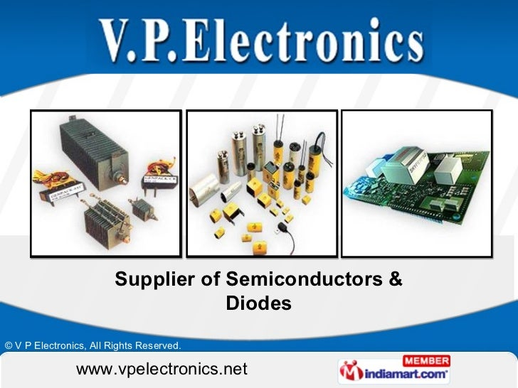 Supplier of Semiconductors & Diodes
