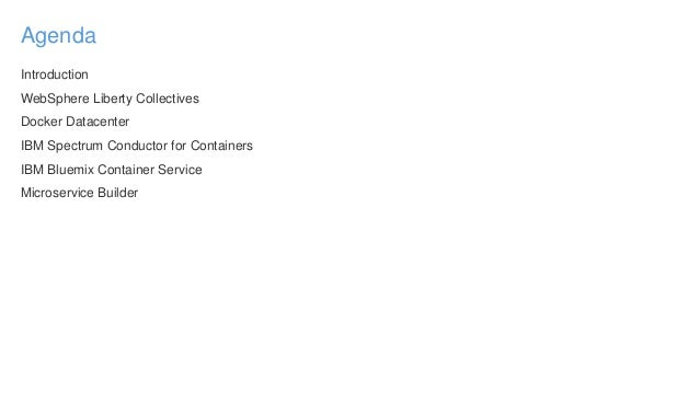 Choosing a Container Platform for your WebSphere Applications Slide 3