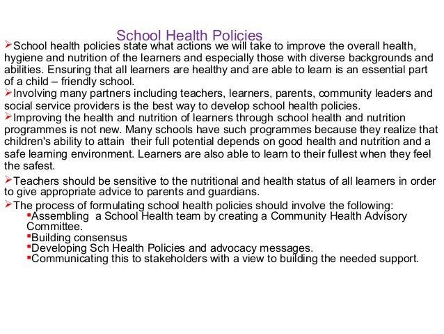 PPT teachers training on health, hygiene, nutrition and