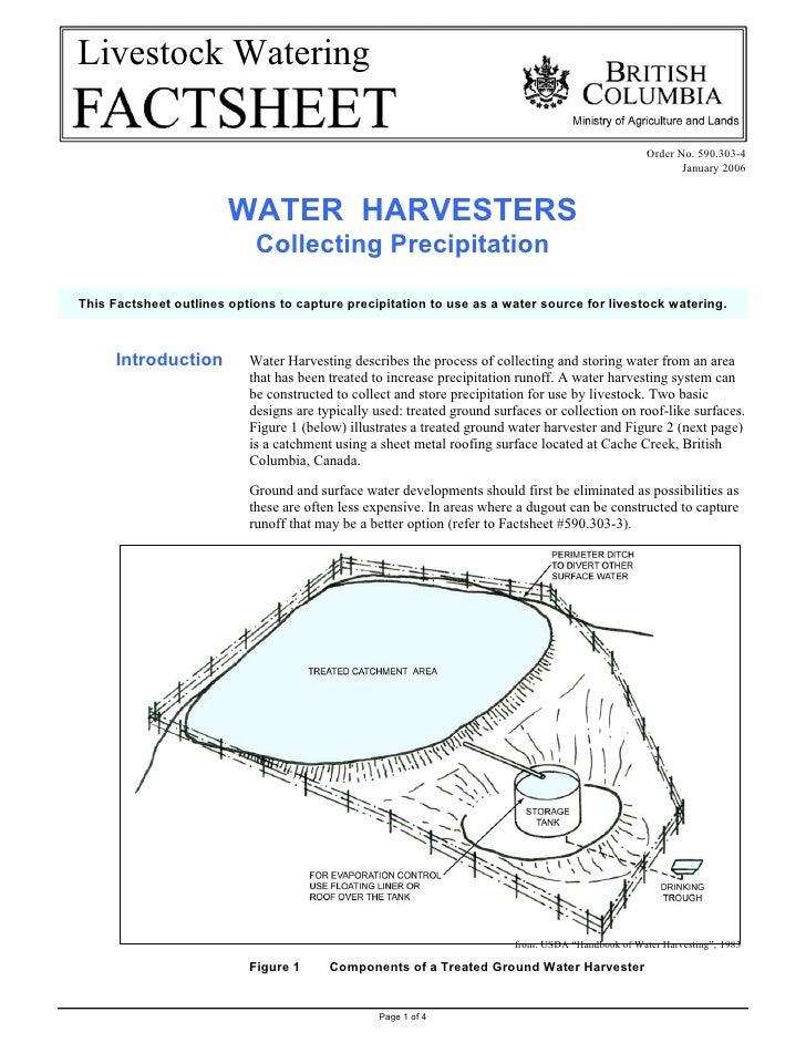 Livestock Watering                                                                                                     Ord...
