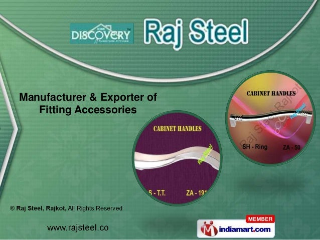 Manufacturer & Exporter of   Fitting Accessories