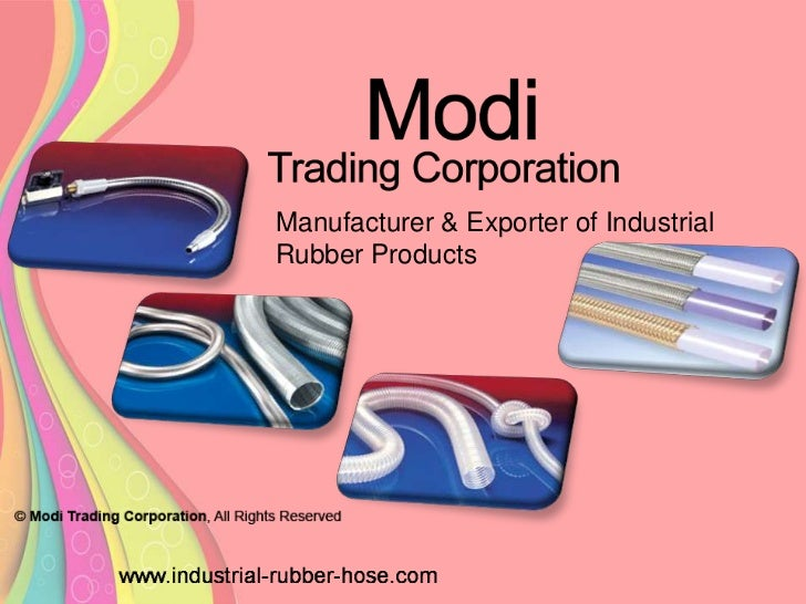 Manufacturer & Exporter of IndustrialRubber Products