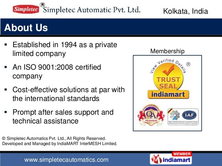 Track Press by Simpletec Automatics Private Limited, Kolkata