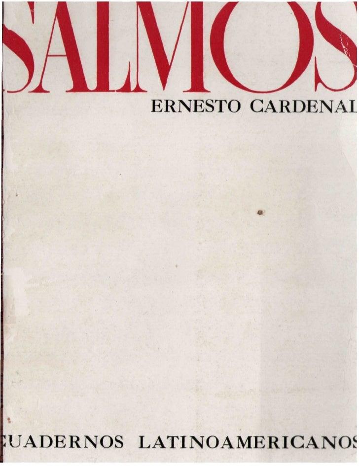 >ALMCfc     ERNESTO CARDENAL1UADERNOS   LATINOAMERICANOS