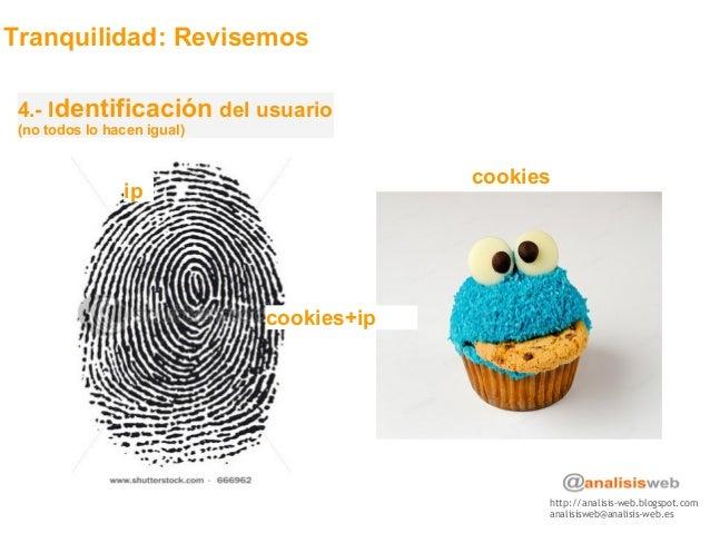 http://analisis-web.blogspot.com analisisweb@analisis-web.es Tranquilidad: Revisemos 4.- Identificación del usuario (no to...