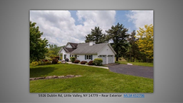 5926 Dublin Road, Little Valley, NY 14779   Ellicottville NY Area Real  Estate