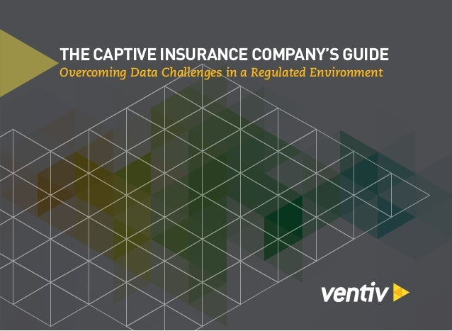 THE CAPTIVE INSURANCE COMPANY'S GUIDE Overcoming Data Challenges in a Regulated Environment