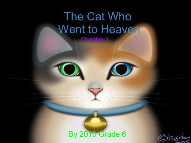 The Cat Who Went to Heaven By 2010 Grade 6 Chapter 1