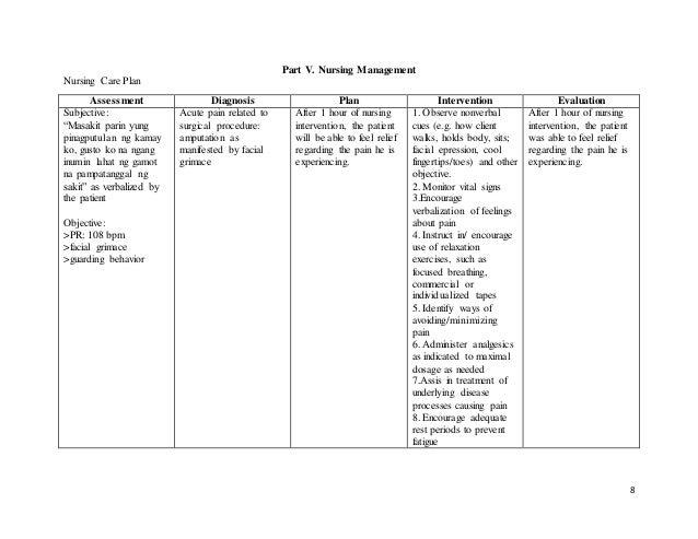 Assessment: Data Assessment Plan (DAP) Case