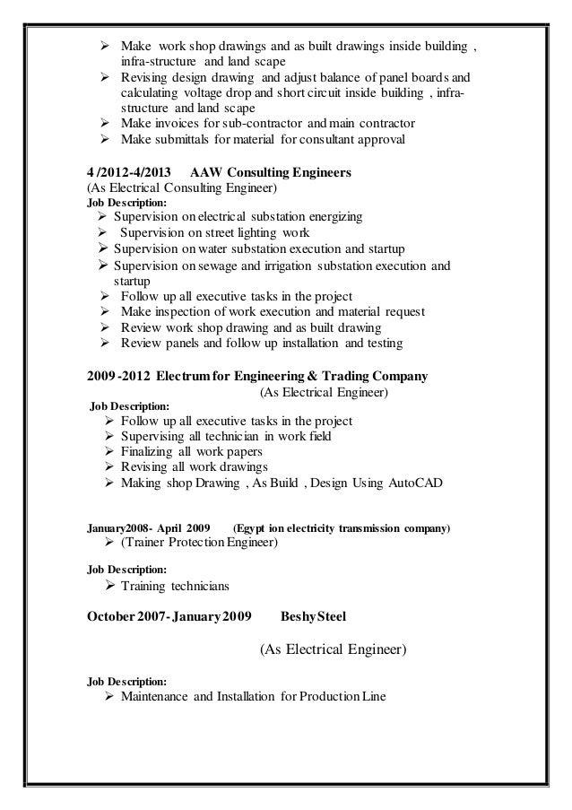enghakimcv 1 1 3 638?cb=1479883514 electrical shop drawing job description the wiring diagram wire harness technician job description at highcare.asia