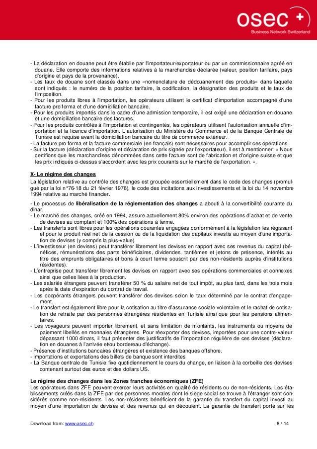 59502568 regime du commerce exterieur en tunisie. Black Bedroom Furniture Sets. Home Design Ideas