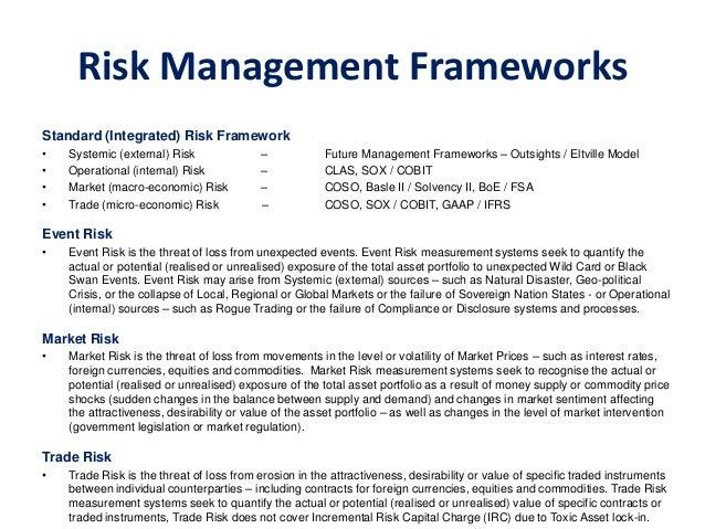 Enterprise Risk Management PDF - Types of risk management