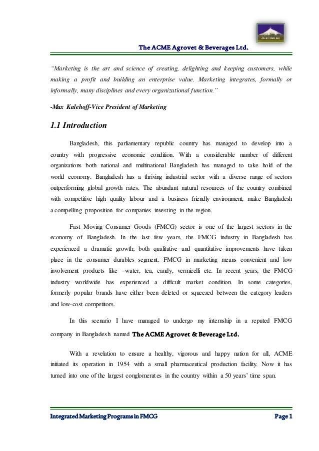 Internship Report Final Copy