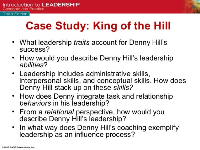 case study on leadership skills As a result of the planning session, several topics were selected as a high priority for training and development, at both the leadership team level, as well as the next tier.