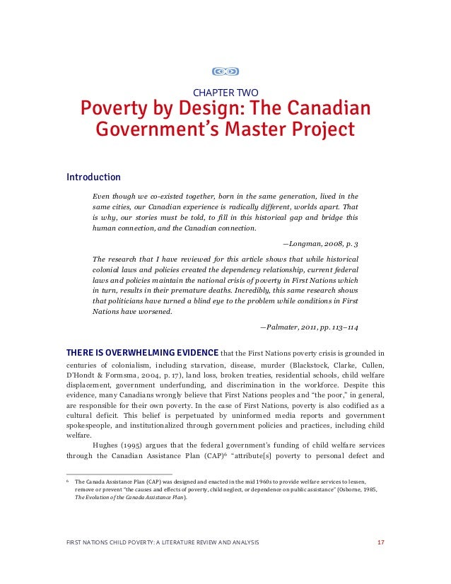 literature review of poverty Addressing poverty in city development strategies literature review 2  disclaimer this document is an output from a research project funded by the uk .
