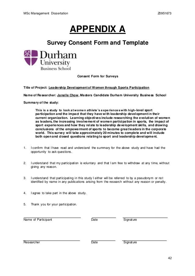 Durham University Dissertation 2015