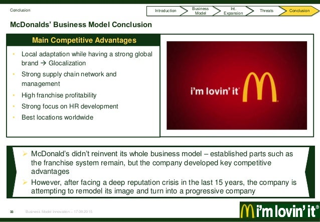 mcdonald's expands globally while adjusting its Today mcdonald's global sales were around $22 billion, making it largest fast food service company and ranked 107 in fortune 500 companies in year 2009 the company while the company was experiencing rapid growth rate on the us soil, it also went in for international expansion it all started with.