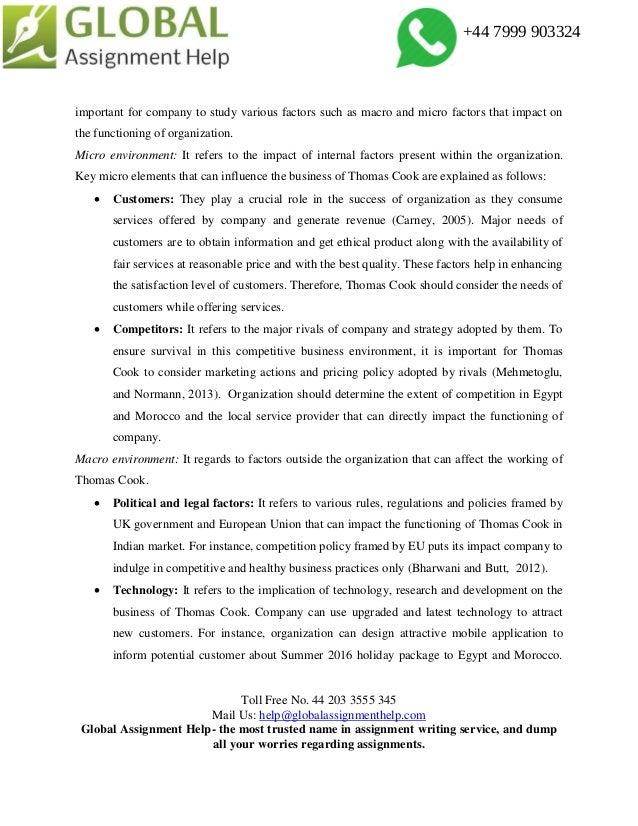 Most important macro environment factors in qantas tourism essay