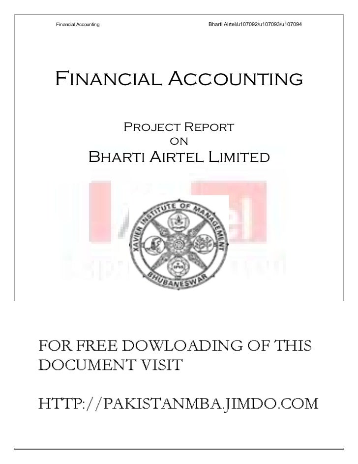 working capital analysis of bharti airtel Check out bharti airtel fact sheet and bharti airtel financial results online at equitymaster  net working cap to sales  read on for a complete analysis of .