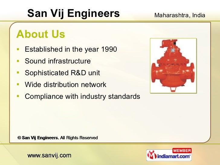 Ultrasonic Flow Meters by San Vij Engineers Pune Slide 2