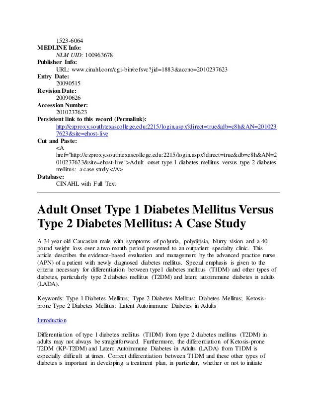 case study on diabetes type 2  [[case study on diabetes type 2]] special 35% off today, reverse diabetes home remedies make every symptom of your case study on diabetes type 2 diabetes completely disappear.