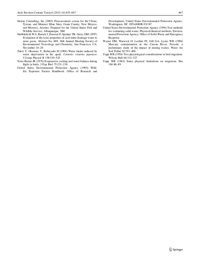 acid mine drainage chemistry pdf