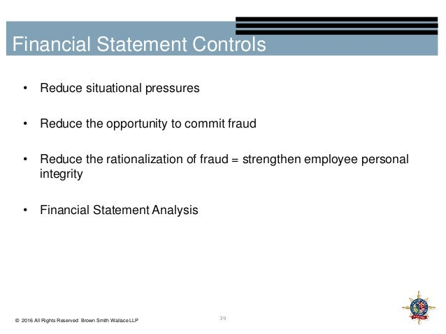 compare and contrast financial statement fraud with embezzlement and misappropriation Abstract the global increase in fraud has caused many people to lose trust in accountants however, experts in the field of forensic accounting, such as certified fraud examiners, are restoring ethics and trust by fighting to deter white-collar crimes.