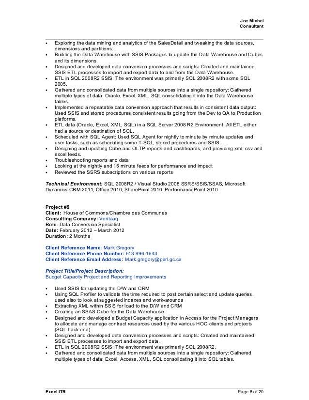 joe michel 2015april09 sql crm bi resume with references for all jobs