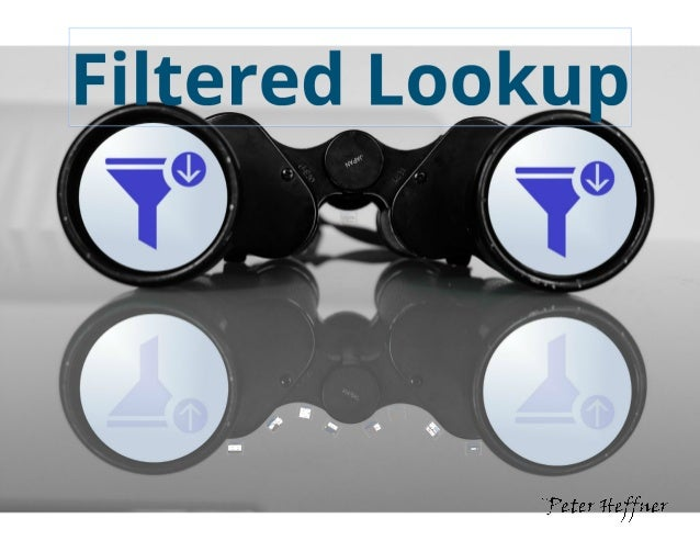 SharePoint Lesson #59: Filtered Lookup