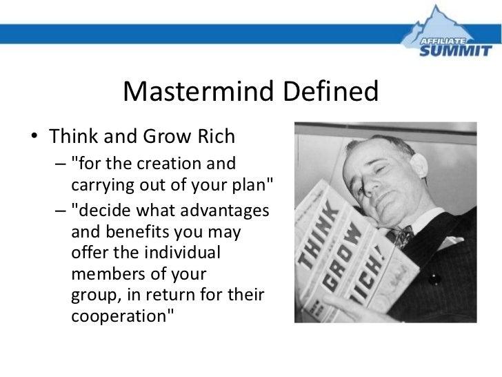 Mastermind Groups Exposed: Success in Affiliate Marketing Slide 3