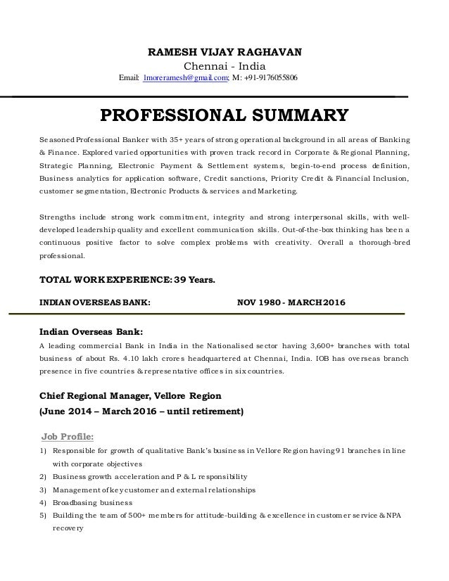 RAMESH VIJAY RAGHAVAN Chennai - India Email: 1moreramesh@gmail.com; M: +91-9176055806 PROFESSIONAL SUMMARY Seasoned Profes...